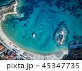 浜辺 海 ボートの写真 45347735