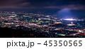 皿倉山展望台から眺める新日本3大夜景【福岡県北九州市】 45350565