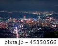 皿倉山展望台から眺める新日本3大夜景【福岡県北九州市】 45350566