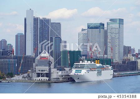 都市風景 東京湾 晴海ふ頭 45354388