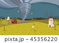 農業 破損 災害のイラスト 45356220