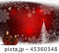バックグラウンド 背景 クリスマスのイラスト 45360348