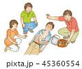 応急手当イラスト93:AED 45360554
