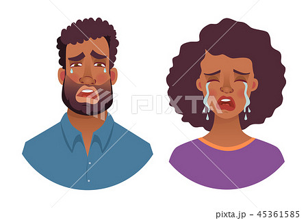 portrait of african man and woman 45361585