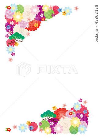 亥年-年賀状テンプレート 45362128
