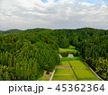 新潟県与板町の田園風景 45362364