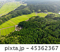 新潟県与板町の田園風景 45362367