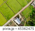 田園風景と田舎の家 45362475
