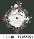 花 ベクター 鳥のイラスト 45362593