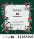 花 ベクター 鳥のイラスト 45362596