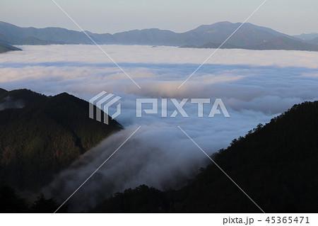 玉置神社・雲海の風景 45365471