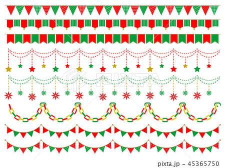 ガーランド クリスマス2 45365750