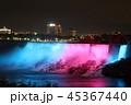 夜のナイアガラの滝 アメリカ滝 アメリカ カナダ 45367440