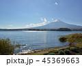 河口湖 大石公園 湖畔の写真 45369663