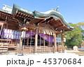 唐津神社 晴れ 神社の写真 45370684