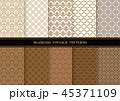 パターン 柄 模様のイラスト 45371109