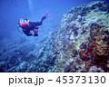 ダイバー 潜水夫 ダイビングの写真 45373130