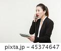 フォン 電話 携帯電話の写真 45374647