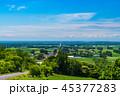 道路 一本道 道の写真 45377283