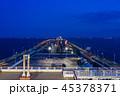 「海ほたる」から眺める東京湾・木更津方面 夕景 45378371