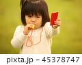 女の子 女児 ホイッスルの写真 45378747