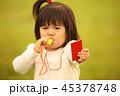 女の子 女児 ホイッスルの写真 45378748