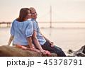 幸せ 楽しい 嬉しいの写真 45378791