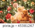 クリスマスイメージ テディベア 45381267