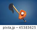 バット ベースボール 野球のイラスト 45383625