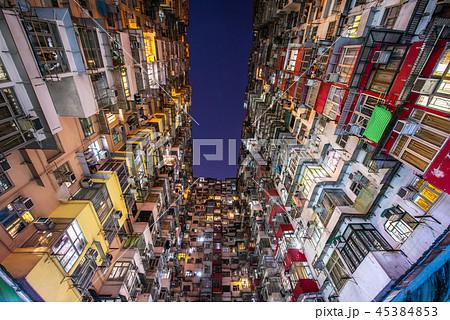 香港 モンスターマンション 夜景 45384853