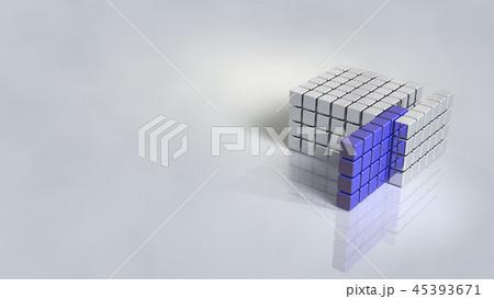 組織から抽出されたサンプルを表す3Dレンダリング  45393671