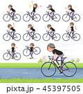 flat type Short hair women Sportswear_road bike 45397505