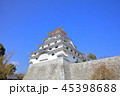 唐津城 城 青空の写真 45398688