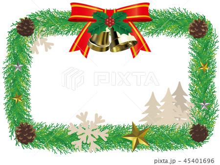 ベクター イラスト デザイン クリスマス リース エンブレム 飾り ベル