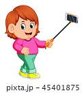 女の子 女子 人々のイラスト 45401875