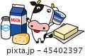 乳製品 乳牛 45402397