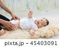 赤ちゃん 母親 ベビーの写真 45403091