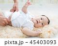 赤ちゃん 母親 ベビーの写真 45403093