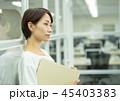 ビジネスウーマン オフィスイメージ 45403383