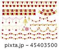 ガーランド クリスマス 45403500