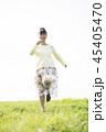 女性 大学生 ポートレートの写真 45405470