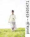 女性 大学生 ポートレートの写真 45405471