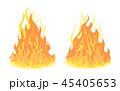 炎 組み合わせ ベクタのイラスト 45405653