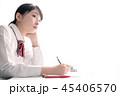 高校生 女子高生 勉強の写真 45406570