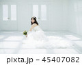 女性 結婚 ブライダルイメージ 45407082