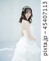 女性 アジア人 新婦の写真 45407113