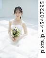 女性 結婚 ブライダルイメージ 45407295