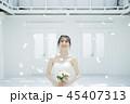 女性 結婚 ブライダルイメージ 45407313