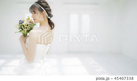 女性 結婚 ブライダルイメージ 45407338