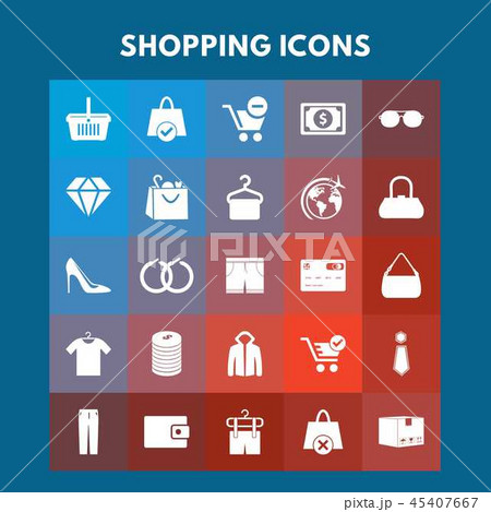 Shopping Icons 45407667